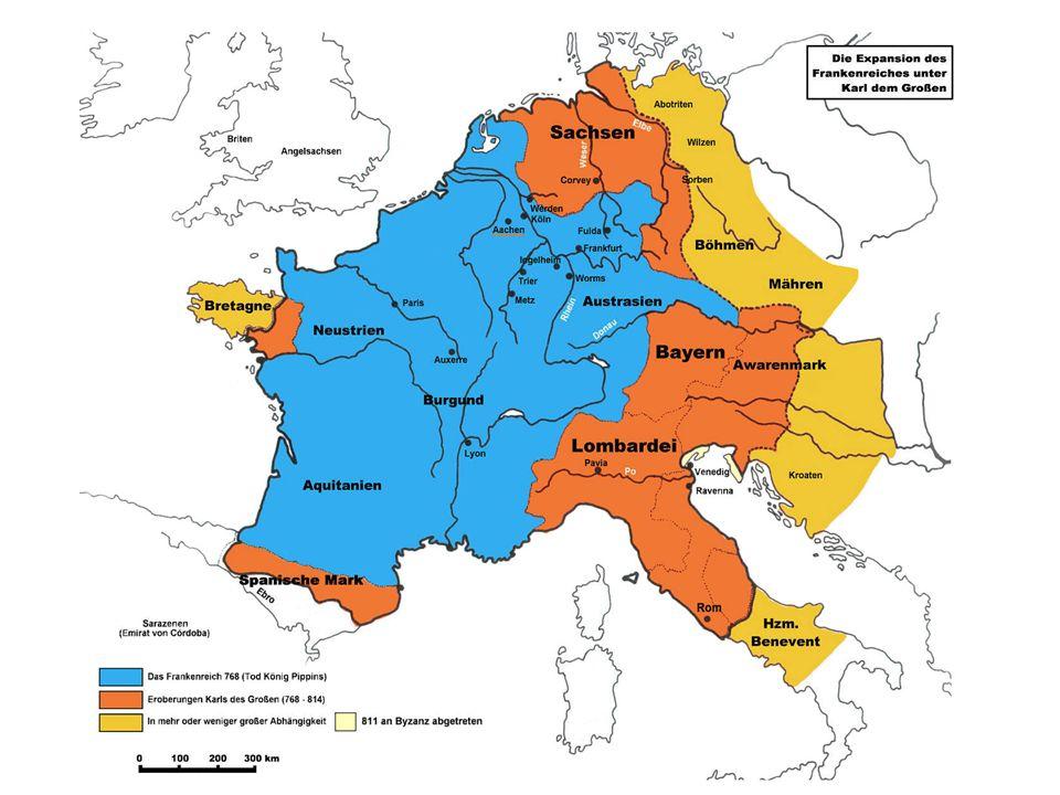 VITA KAROLI MAGNI Het boek van de monnik Einhard von Seligenstadt is een gedetailleerde bron (± 825) van het leven van Karel de Grote.