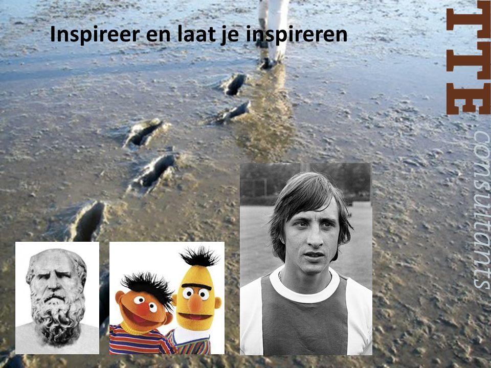 Inspireer en laat je inspireren
