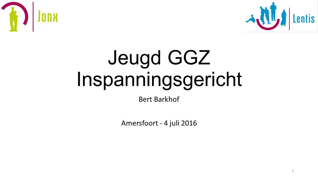 Jeugd GGZ Inspanningsgericht Bert Barkhof Amersfoort - 4 juli 2016 1