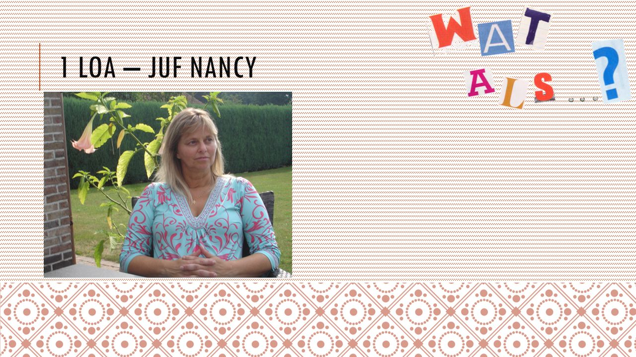 1 LOA – JUF NANCY