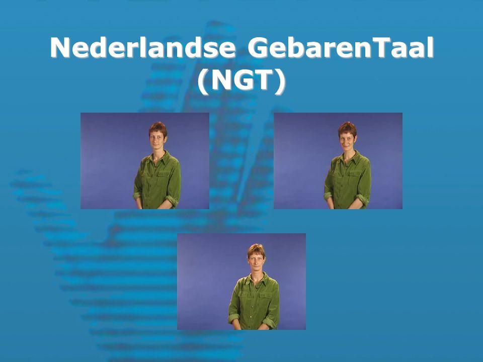 Nederlandse GebarenTaal (NGT)