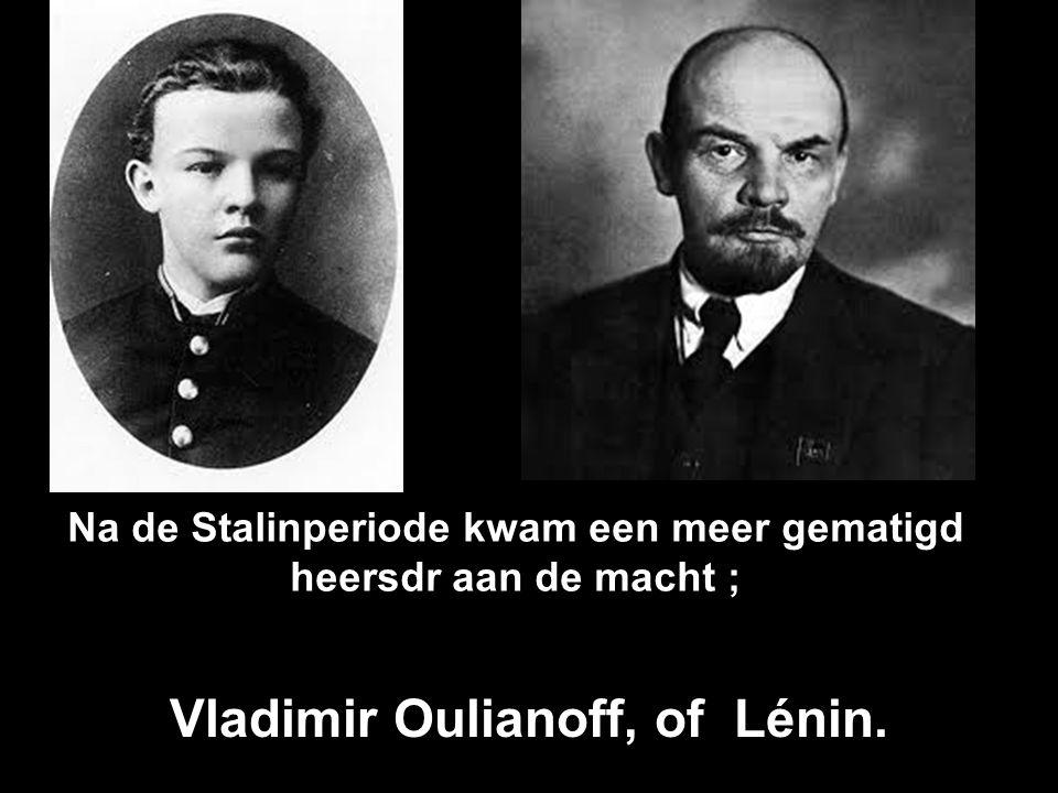 Deze jongeman heeft zich in Rusland opgewerkt als dictator e,n noemt....