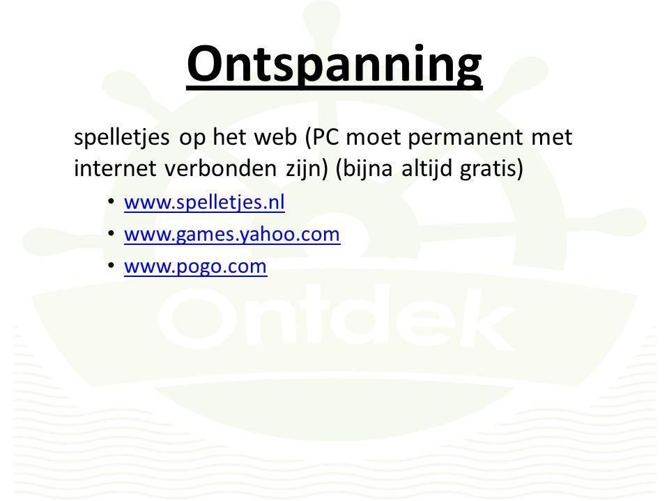 Ontspanning Video/Audio Downloaden of streamen Downloaden Opladen op PC alvorens te bekijken (bekijken kan zonder internet)