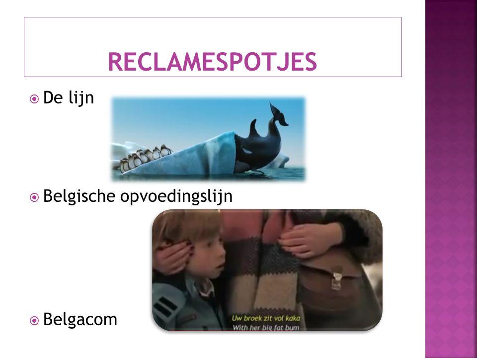  De lijn  Belgische opvoedingslijn  Belgacom