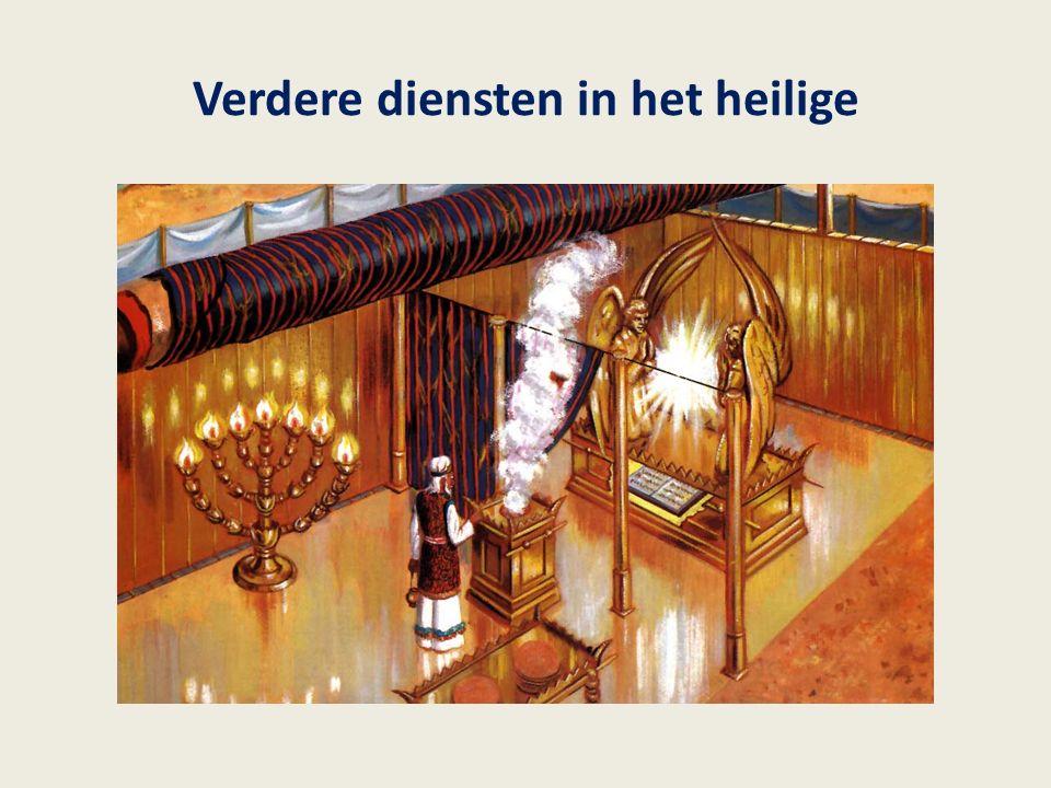 Verdere diensten in het heilige