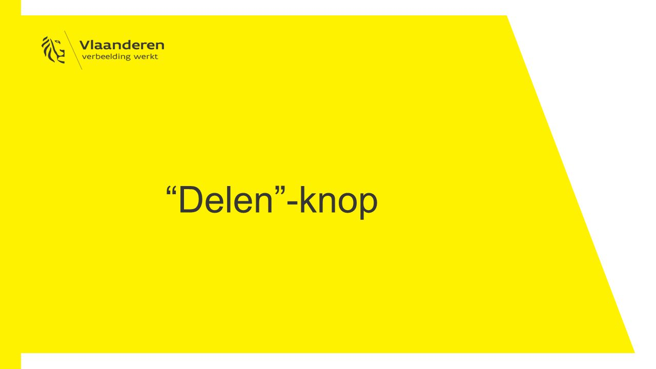 Delen -knop