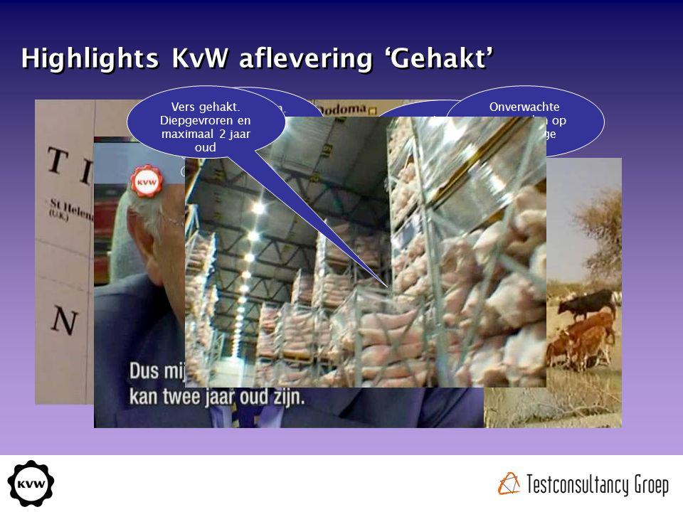 Highlights KvW aflevering 'Gehakt' Nederlands gehakt.
