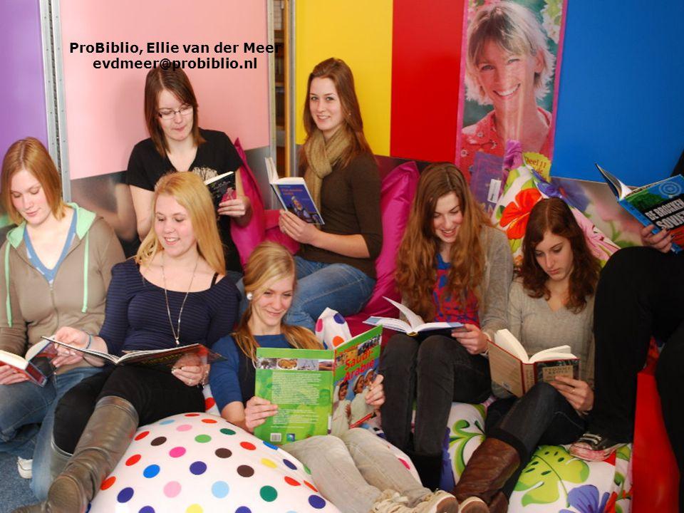 ProBiblio, Ellie van der Meer evdmeer@probiblio.nl