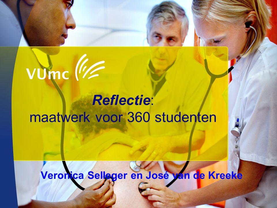 Reflectie: maatwerk voor 360 studenten Veronica Selleger en José van de Kreeke