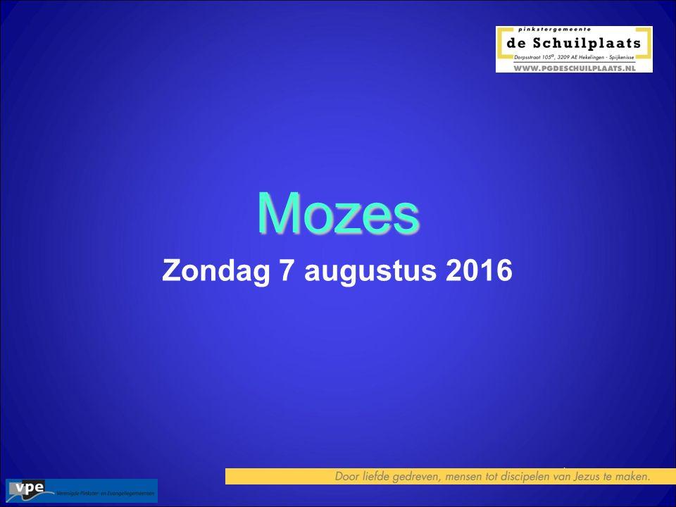1 Mozes Zondag 7 augustus 2016