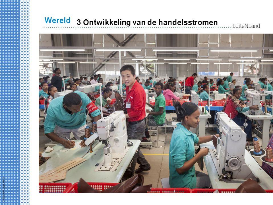Wereld 3 Ontwikkeling van de handelsstromen