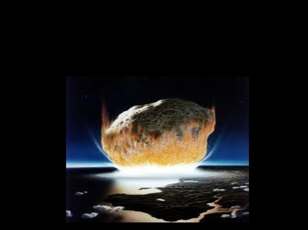 Asteroïden ● Ook wel kleine planeten of planetoïden genoemd, bestaan uit overblijfselen bij de vorming van ons zonnestelsel ● Kleine hemellichamen Omloopbaan rond de zon Geen ronde vorm (te klein voor zwaartekracht) Gekenmerkt door kleine en grote kraters