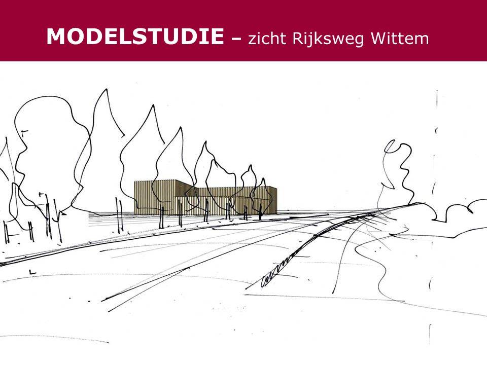 MODELSTUDIE – zicht Rijksweg Wittem