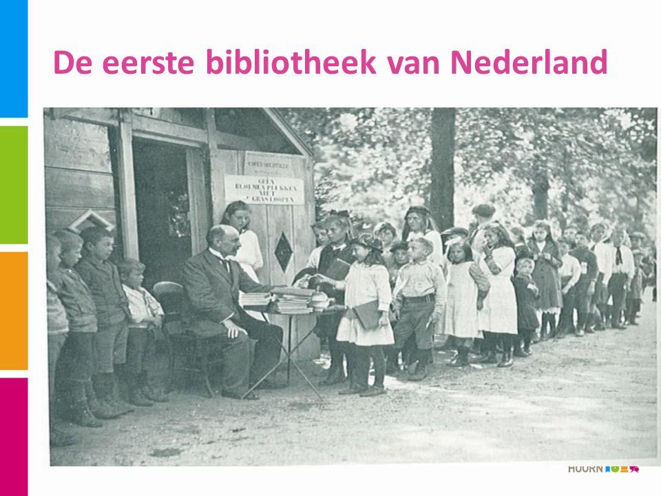 De eerste bibliotheek van Nederland
