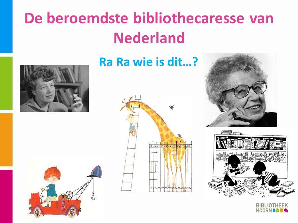 De beroemdste bibliothecaresse van Nederland Ra Ra wie is dit…