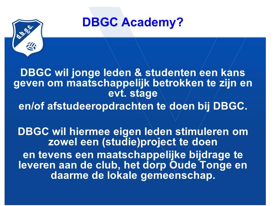 DBGC Academy.