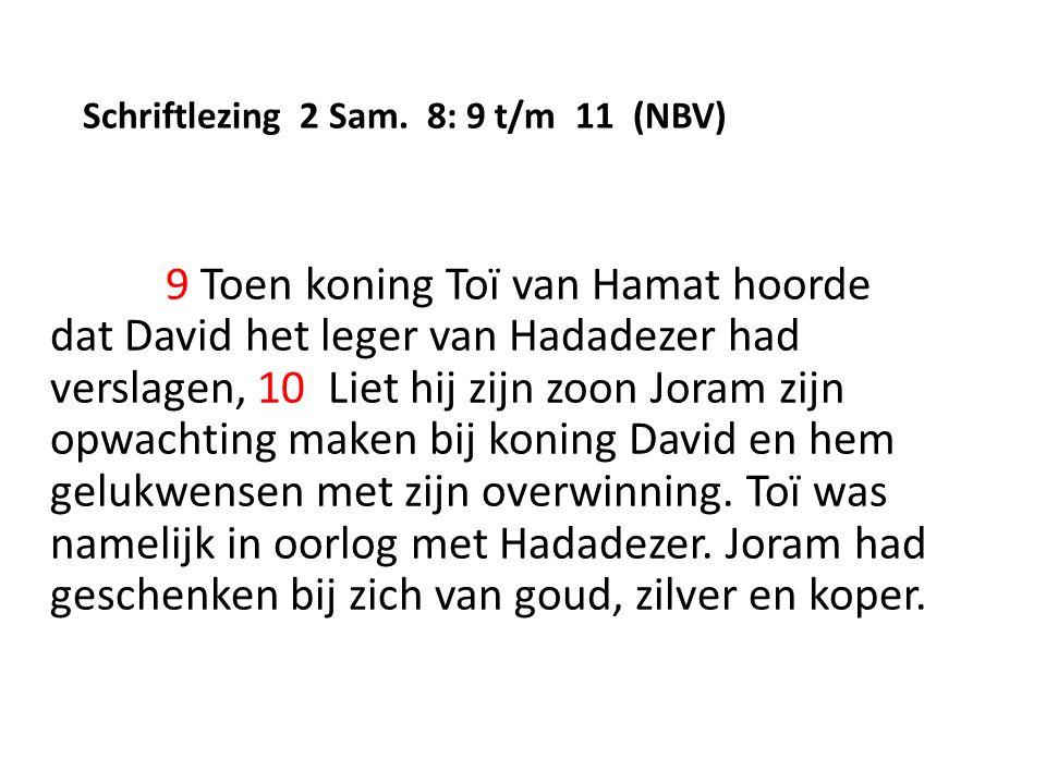 Schriftlezing 2 Sam.