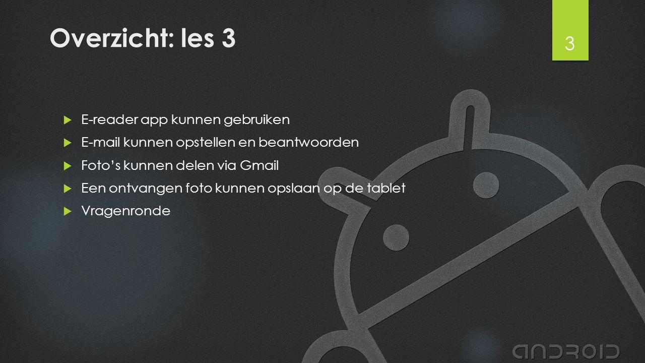 E-books lezen met app Aldiko 1.Ga naar de Play Store 2.