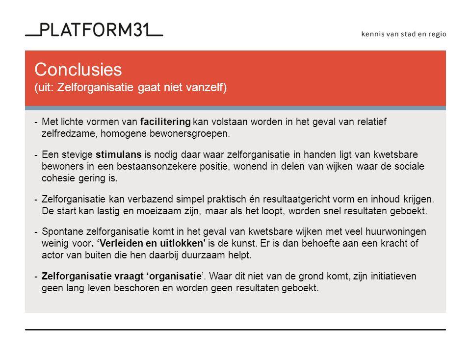 Nieuwe perspectieven voor publieke ruimten (2013) - Bewoners hebben een prikkel nodig om mee te doen.