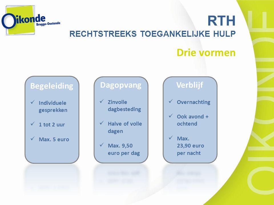 Drie vormen RTH RECHTSTREEKS TOEGANKELIJKE HULP