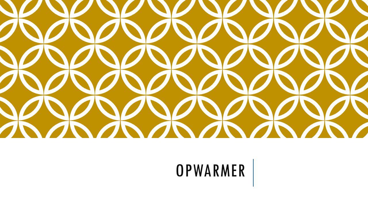 OPWARMER