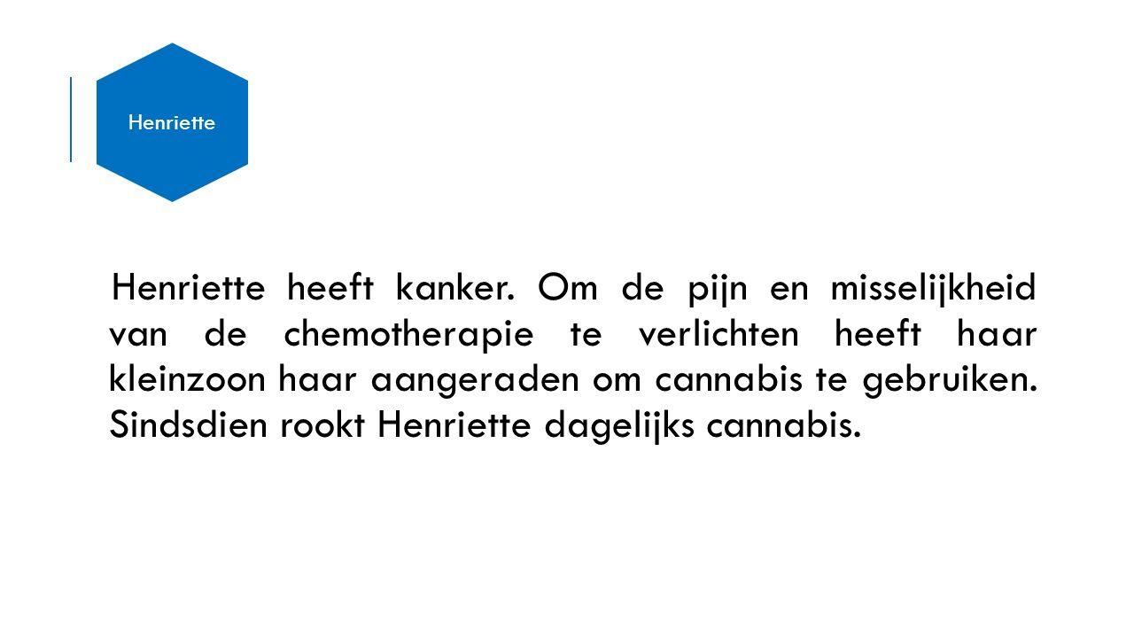 Henriette heeft kanker.