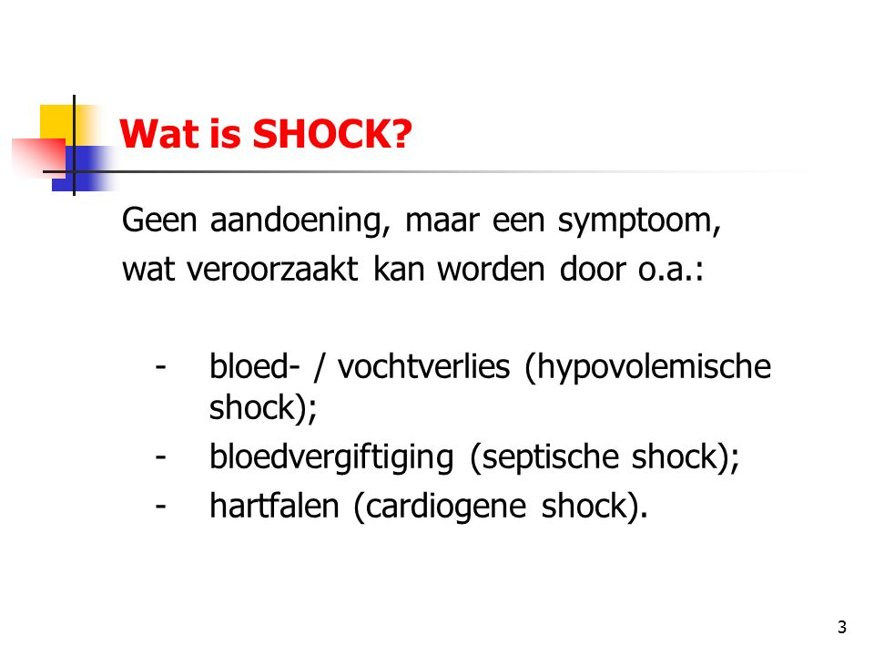 4 Wat is SHOCK.