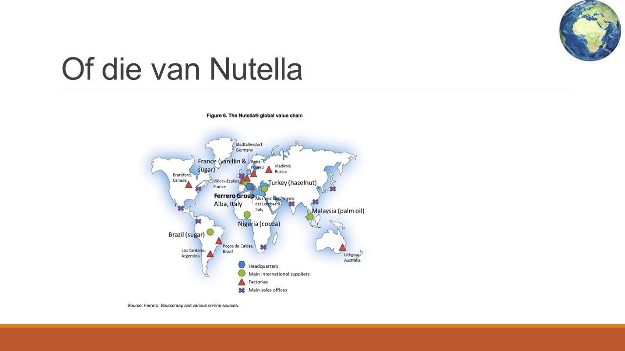 Of die van Nutella