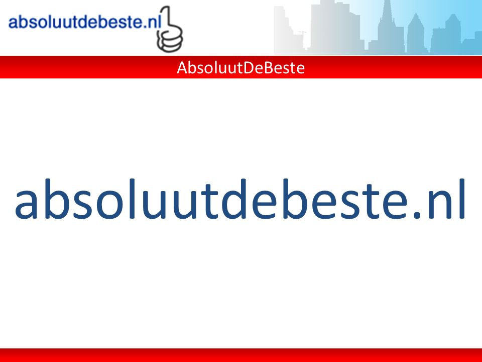 absoluutdebeste.nl AbsoluutDeBeste