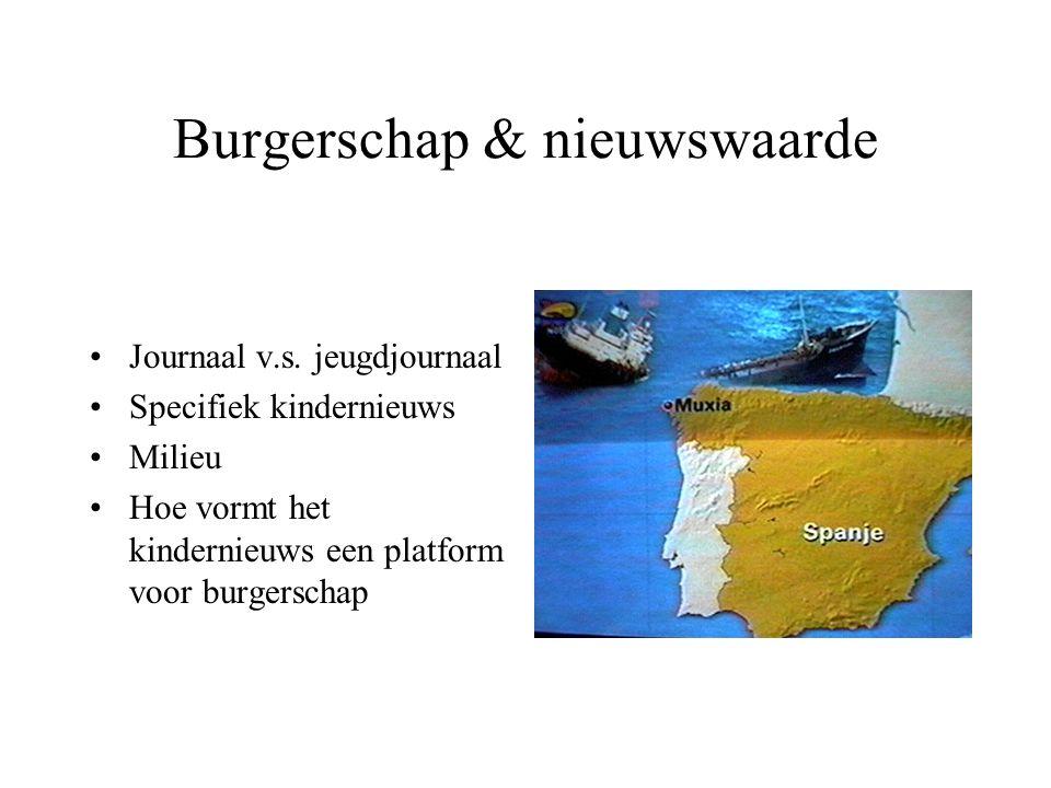 Burgerschap & nieuwswaarde Journaal v.s.