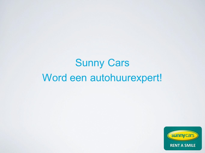 Sunny Cars Word een autohuurexpert!