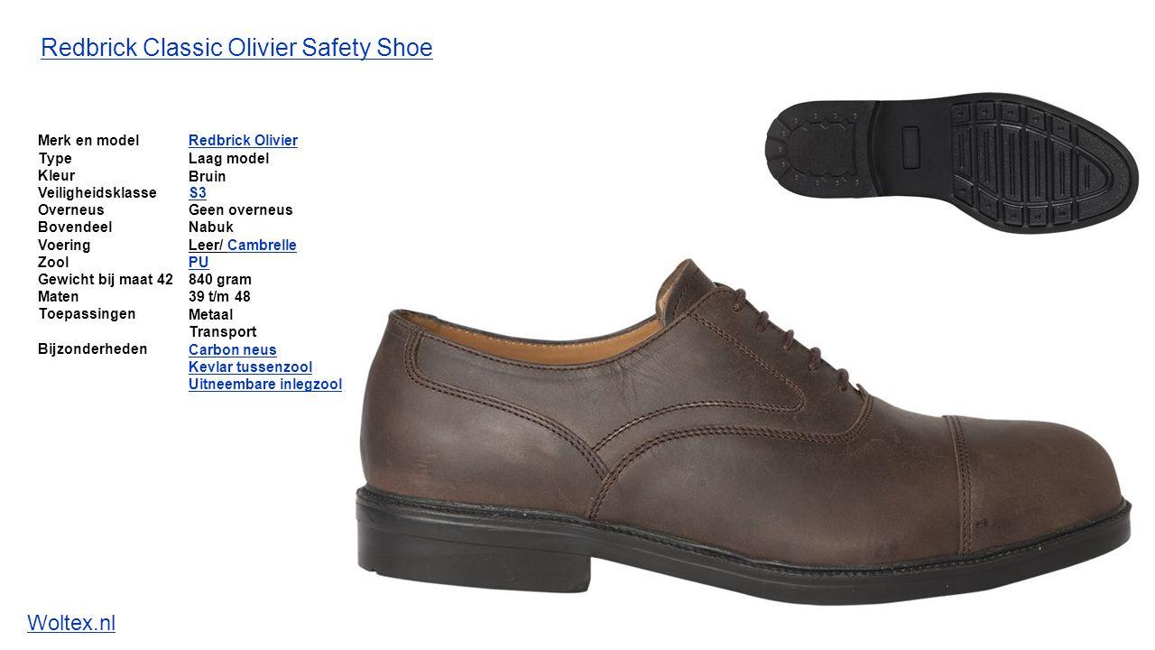 De volgende modellen Redbrick Classics werkschoenen zijn beschikbaar: Redbrick Safety Sneakers Classics