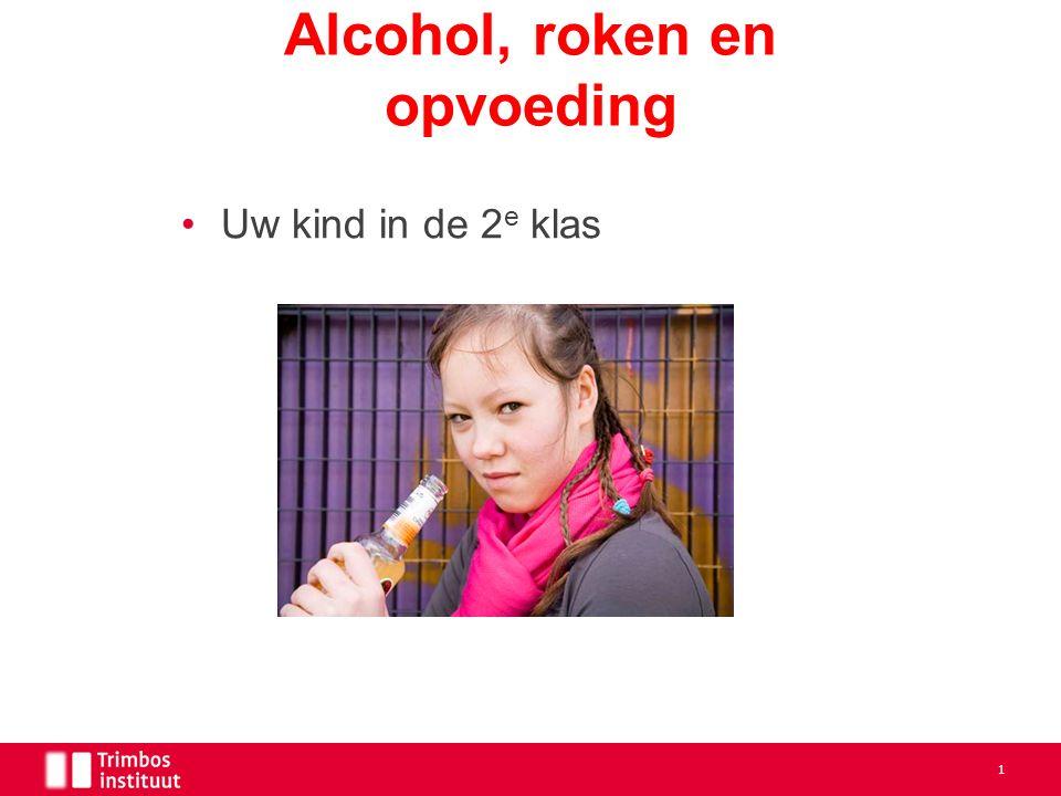 Uw kind in de 2 e klas Alcohol, roken en opvoeding 1