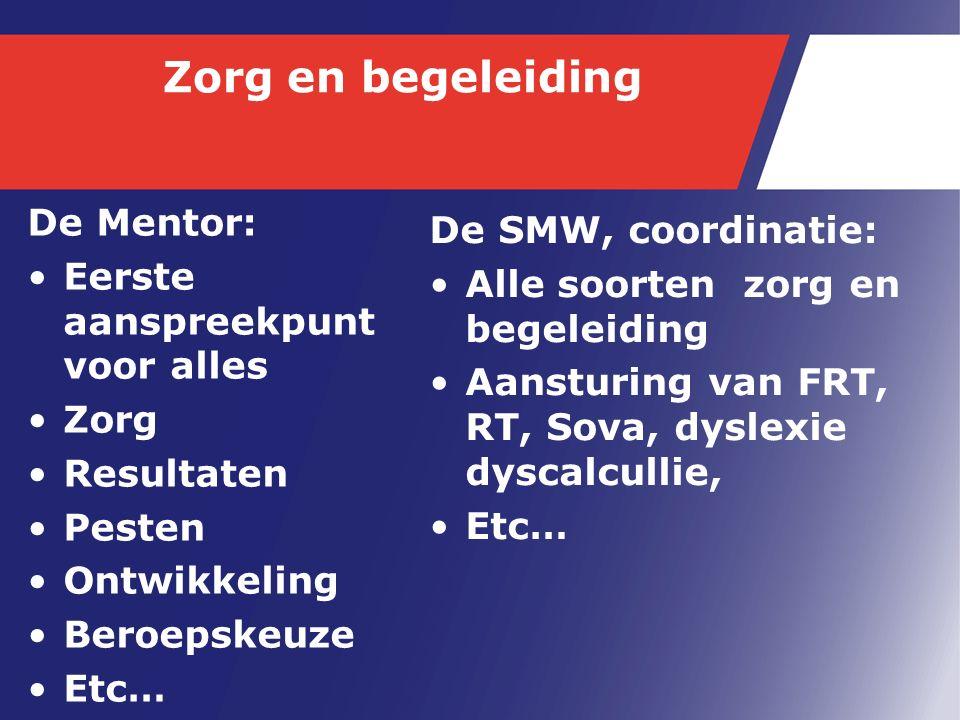 Bovenbouw Vmbo Dit jaar starten we met de vernieuwde profielen ZW-GR- D&P Binnen en Buitenschools leren d.m.v.