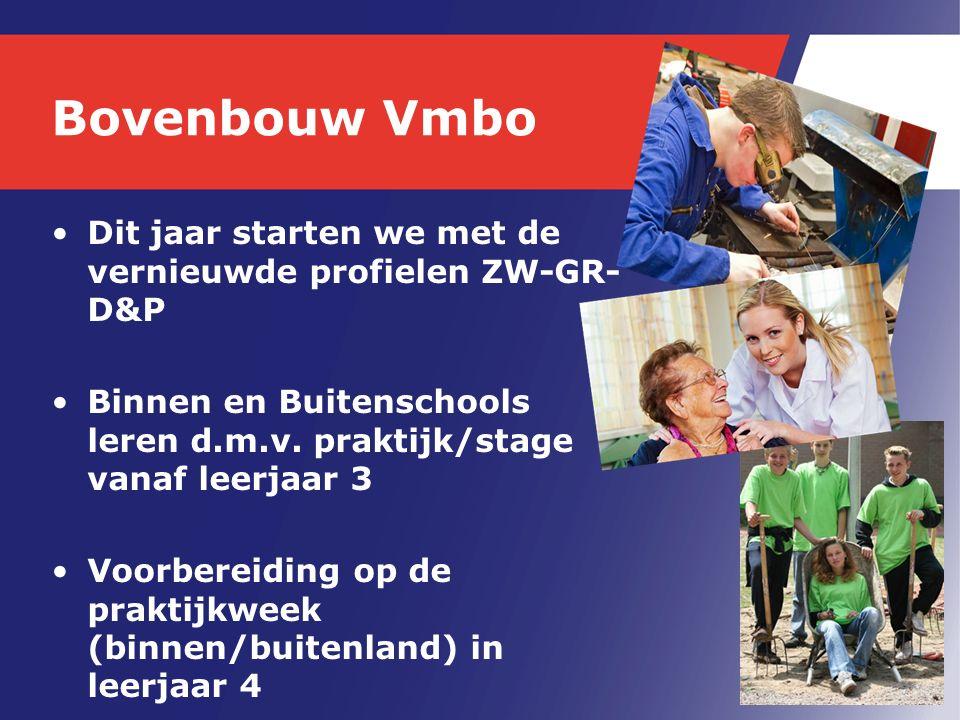 Stage Zorg/Welzijn 1.Kinderen 2.Ouderen 3.Handel en Commercie 4.Vrije keus 5.Vrije keus