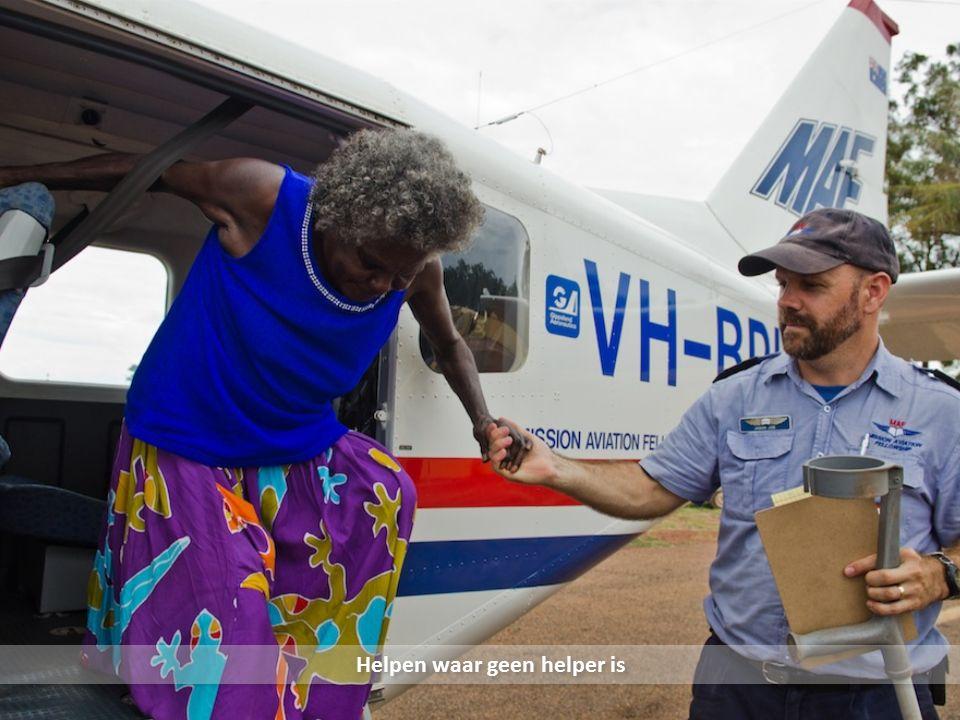 Twee Airvans zijn betaald door Nederlandse ondernemers MAF in Australië en Scandinavië voert actie voor twee Airvans Help MAF 900.000 euro besparen, geef voor deze Airvan!