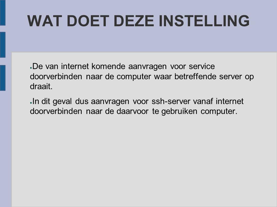 DE ANDERE PC ● Dit kan iedere zijn pc met ieder operating systeem vanuit het lokale netwerk of internet ● Daarop een file transfer programma dat sftp ondersteund (filezilla)
