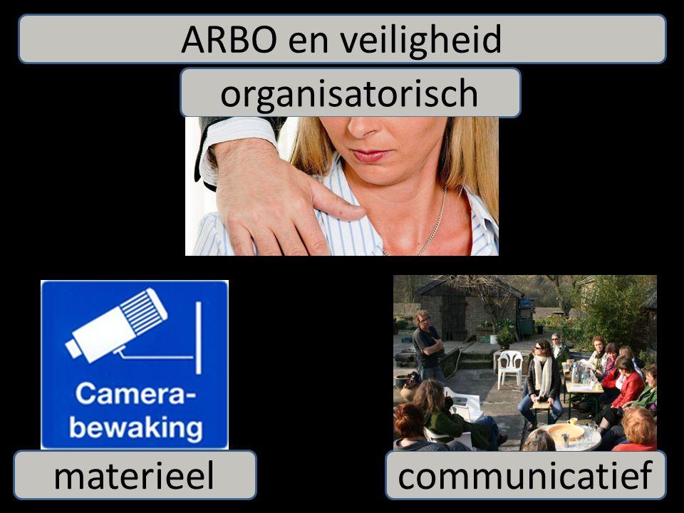 ARBO en veiligheid organisatorisch materieelcommunicatief
