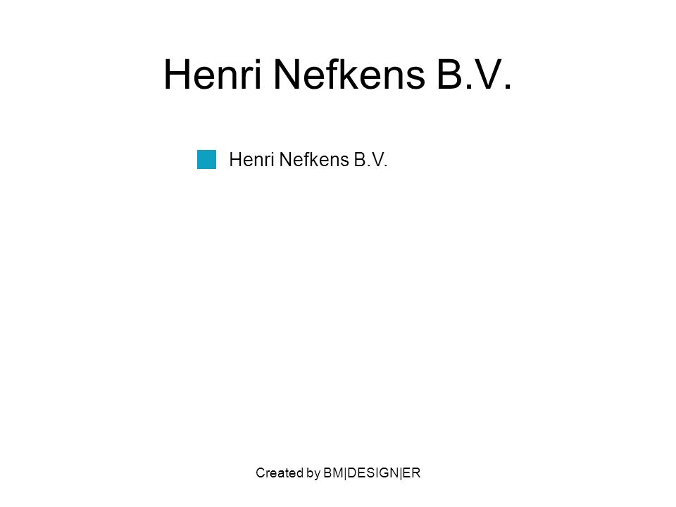 Created by BM|DESIGN|ER Henri Nefkens B.V.