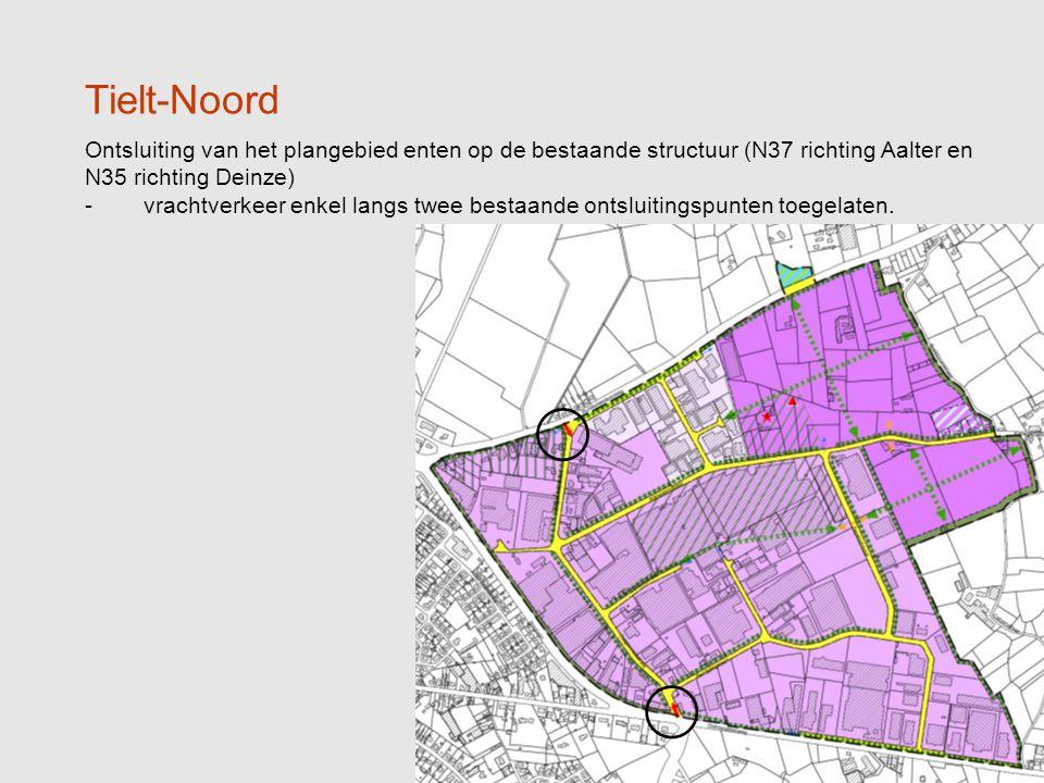 9 Tielt-Noord Toewijzen deelzone voor specifieke bedrijven ( ) -breekinstallaties, afvalverwerking met sloopactiviteiten in open lucht, en slib -en mestverwerking (min.