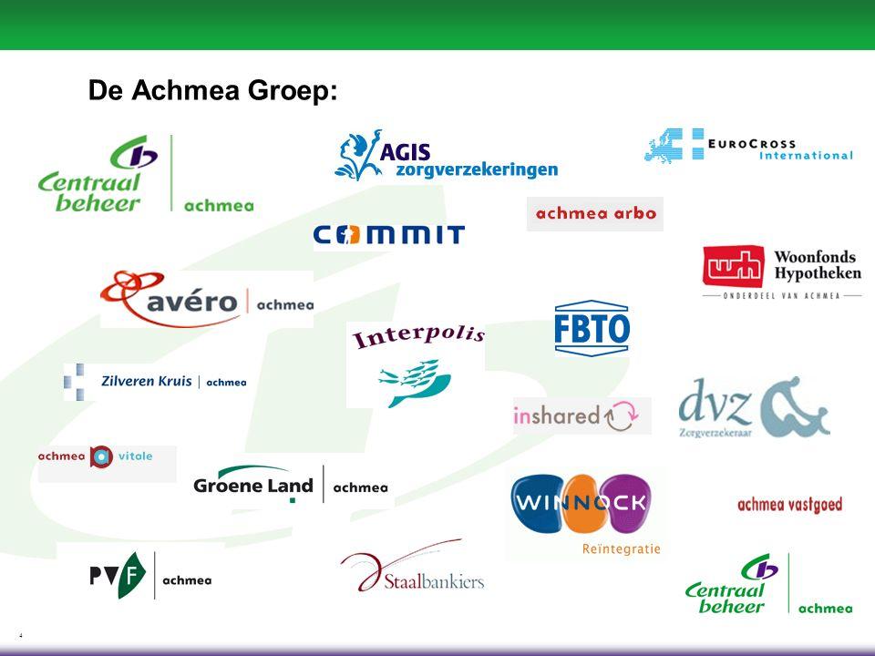 4 De Achmea Groep:
