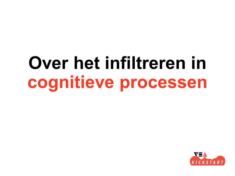 Over het infiltreren in cognitieve processen