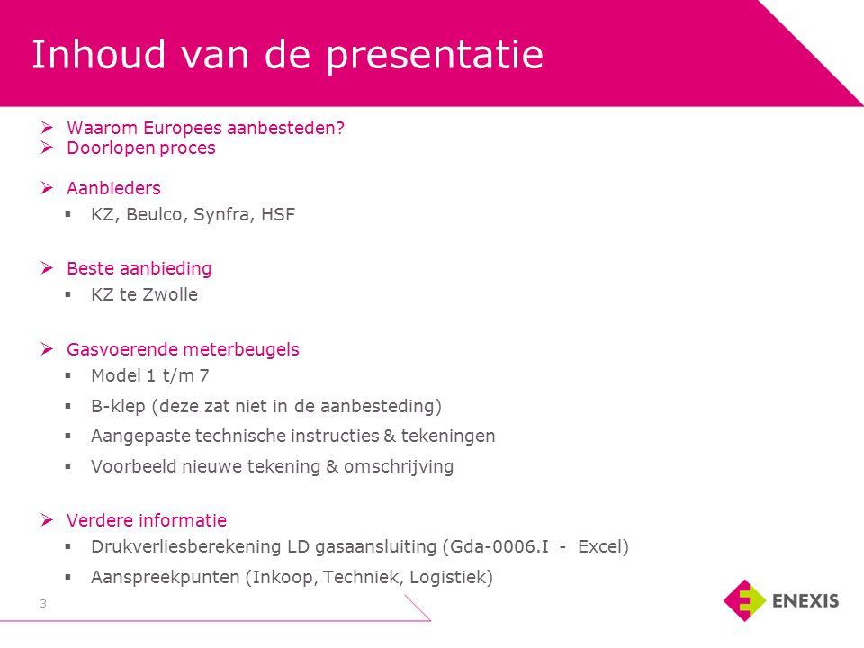 Inhoud van de presentatie 3  Waarom Europees aanbesteden.