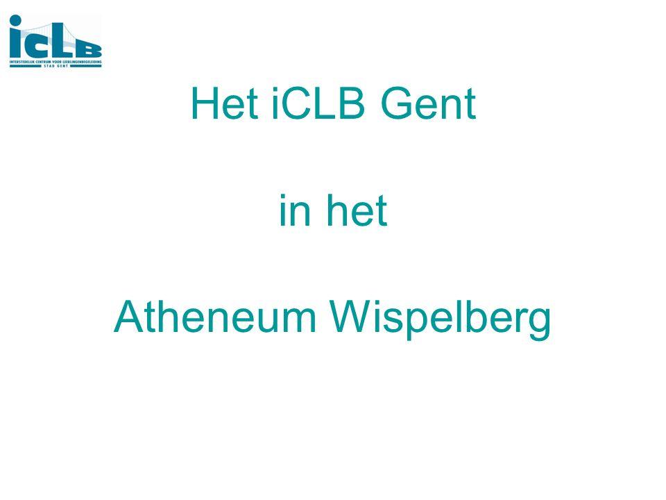 Het iCLB Gent in het Atheneum Wispelberg