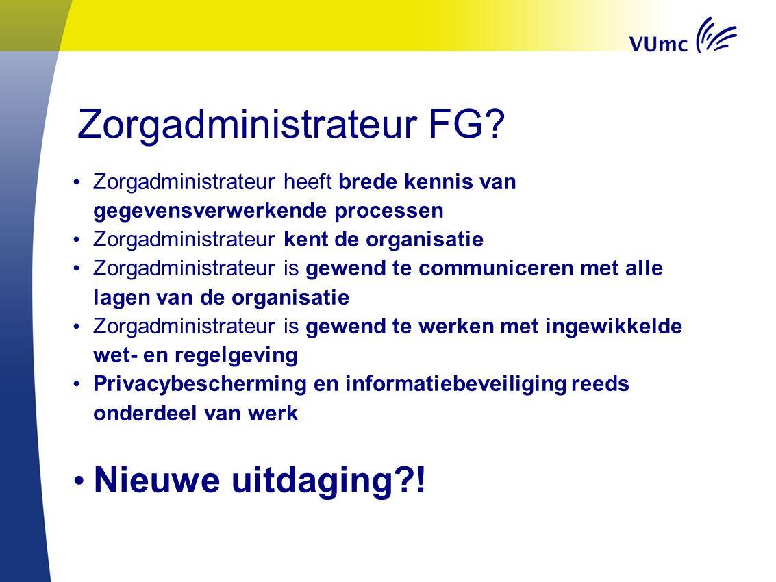 Zorgadministrateur FG.