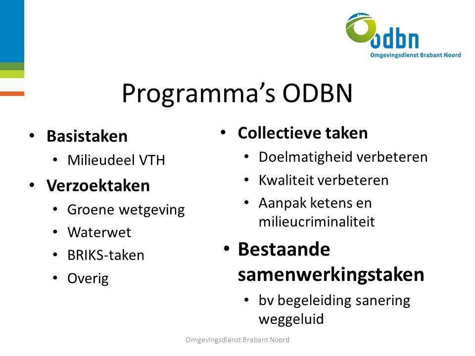Omgevingsdienst Brabant Noord …voor een schone en veilige leefomgeving