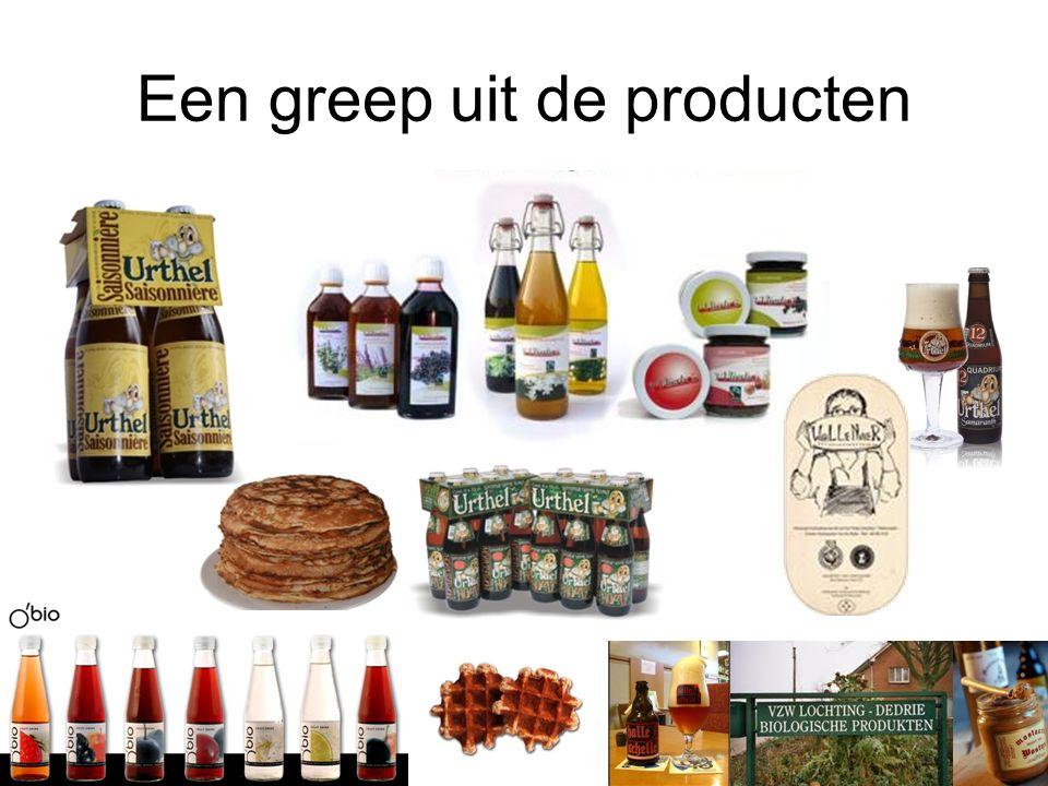 Een greep uit de producten