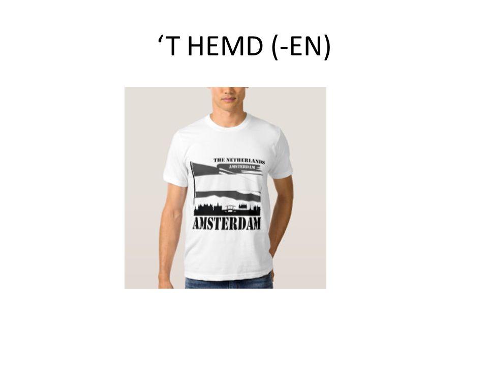 'T HEMD (-EN)