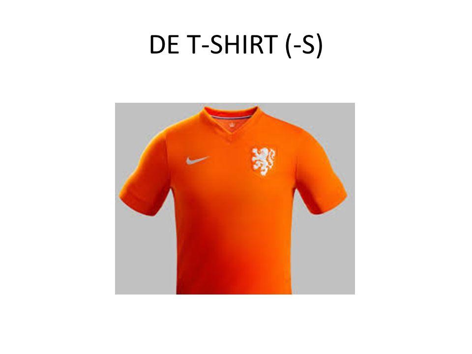 DE T-SHIRT (-S)
