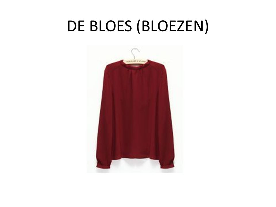 DE BLOES (BLOEZEN)